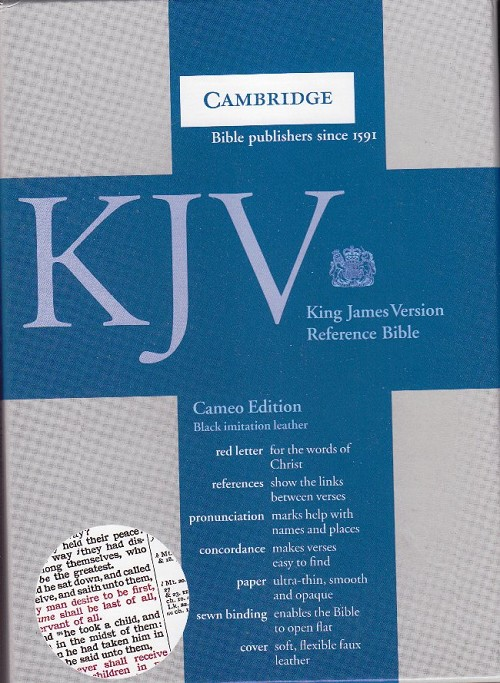 Cameo Reference Bible